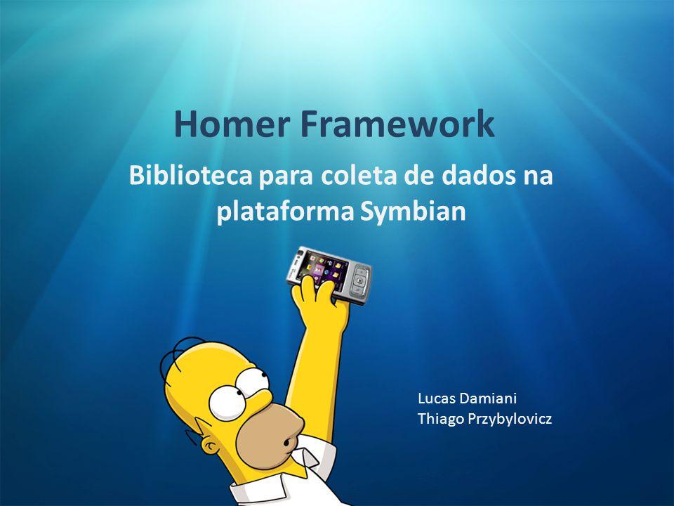Biblioteca para coleta de dados na plataforma Symbian