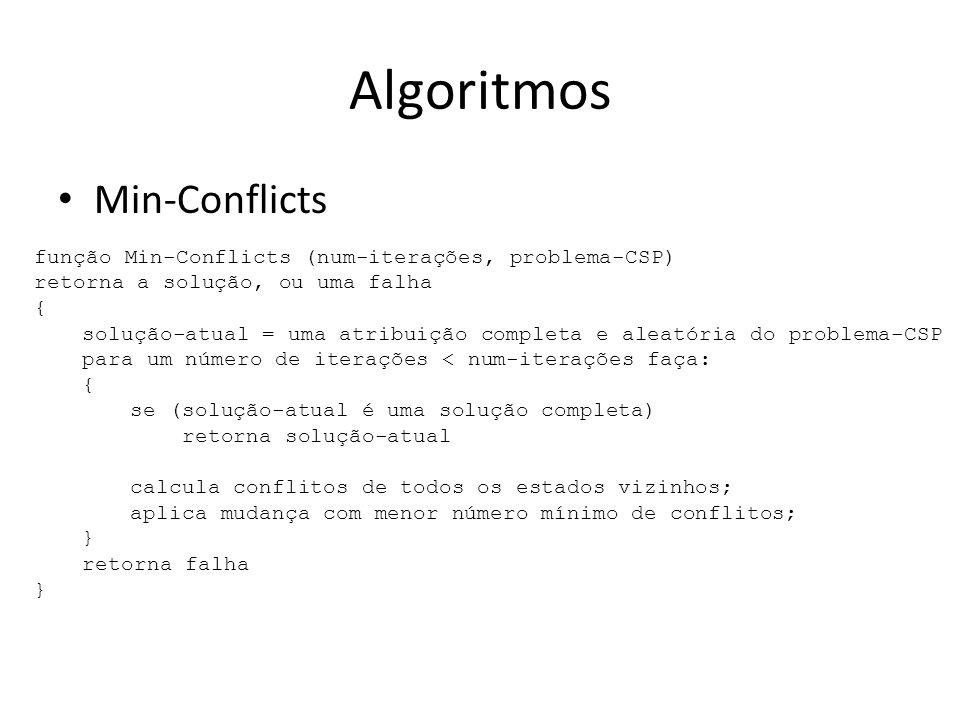 Algoritmos Min-Conflicts