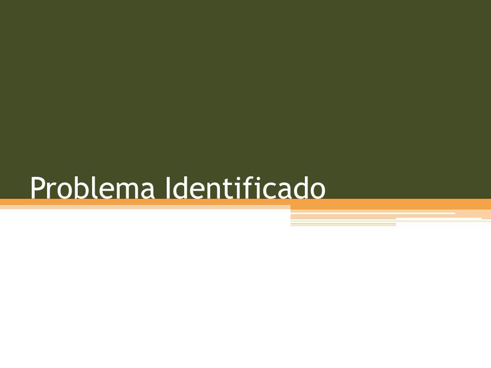 Problema Identificado