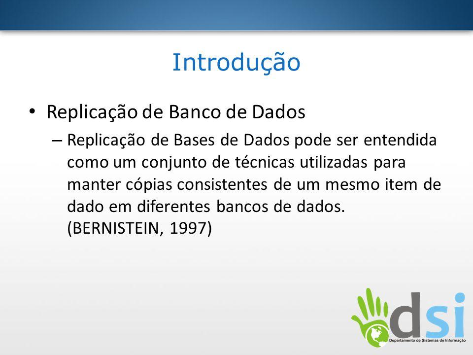 Introdução Replicação de Banco de Dados