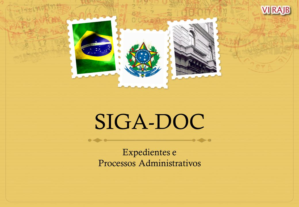 Expedientes e Processos Administrativos