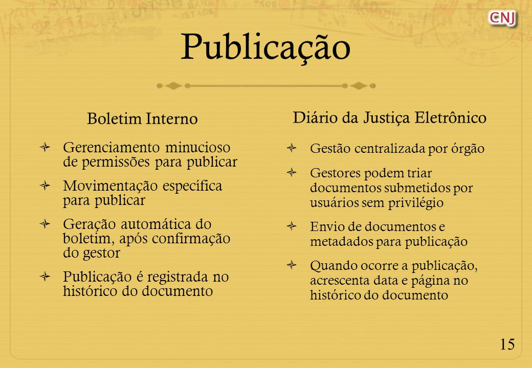 Diário da Justiça Eletrônico