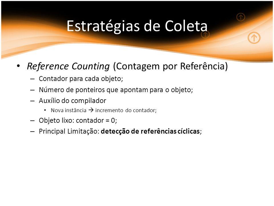 Estratégias de Coleta Reference Counting (Contagem por Referência)