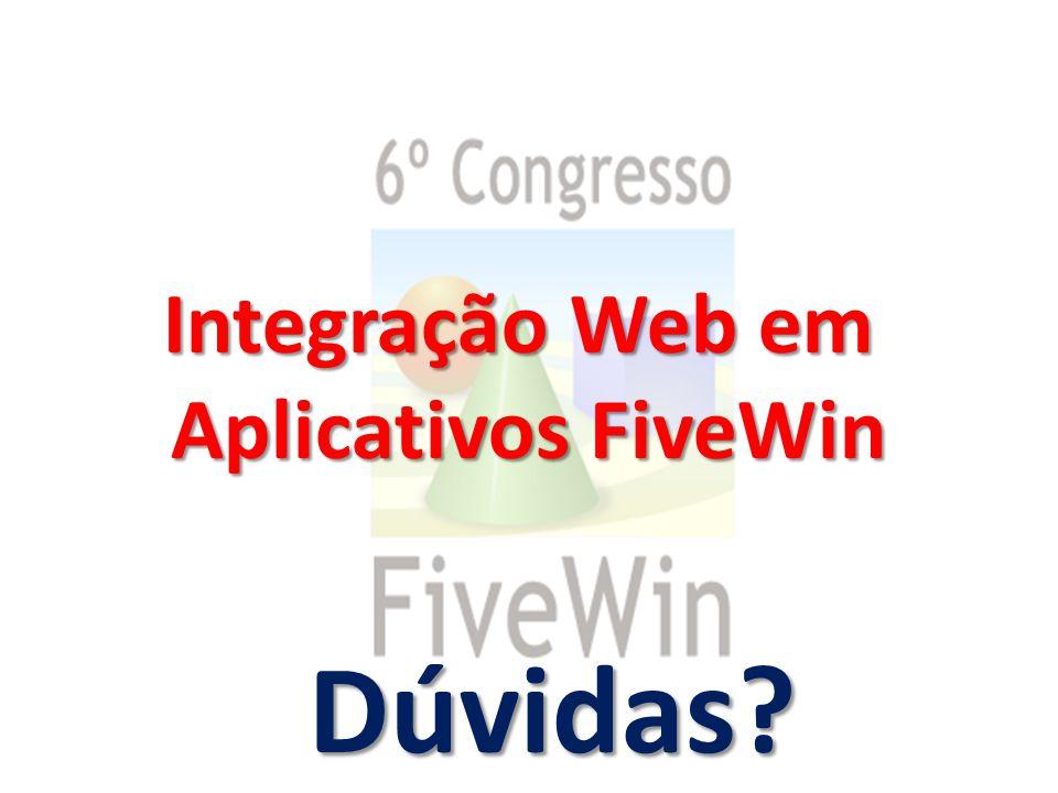 Integração Web em Aplicativos FiveWin Dúvidas