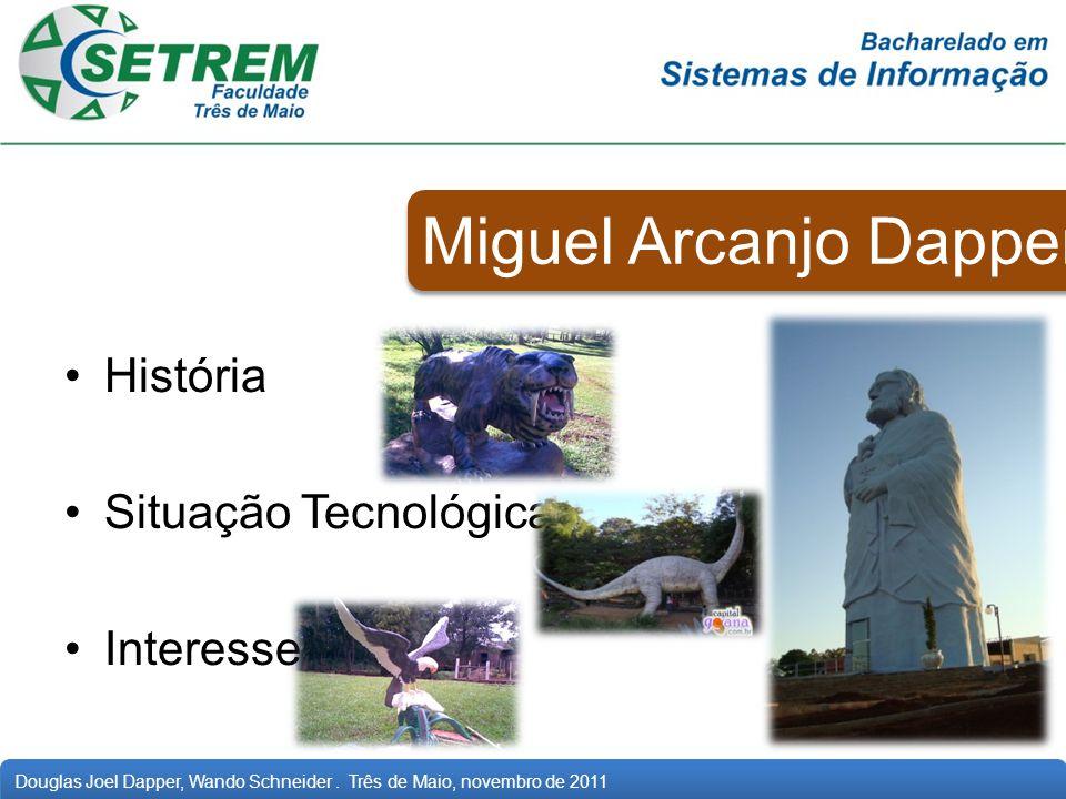 Miguel Arcanjo Dapper História Situação Tecnológica Interesses
