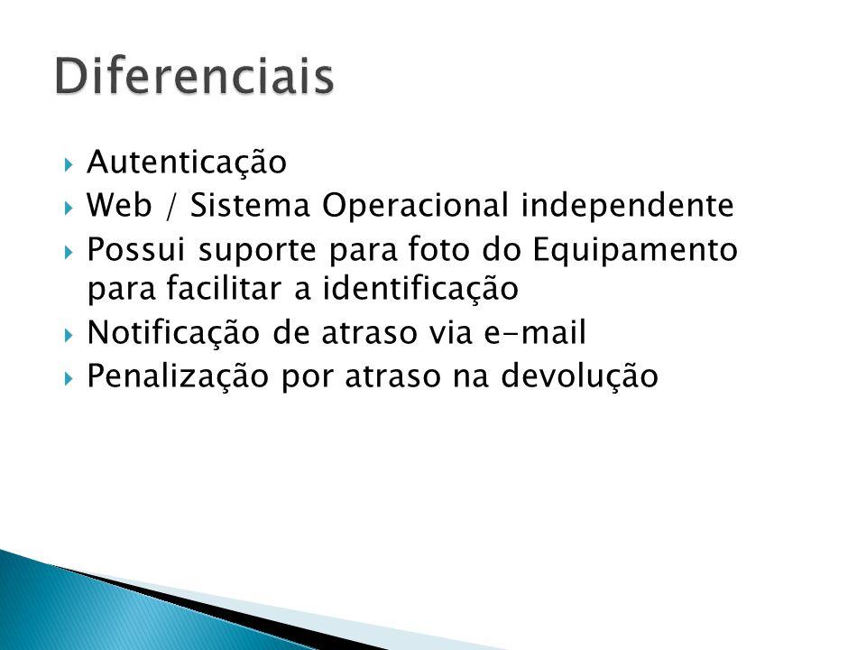 Diferenciais Autenticação Web / Sistema Operacional independente