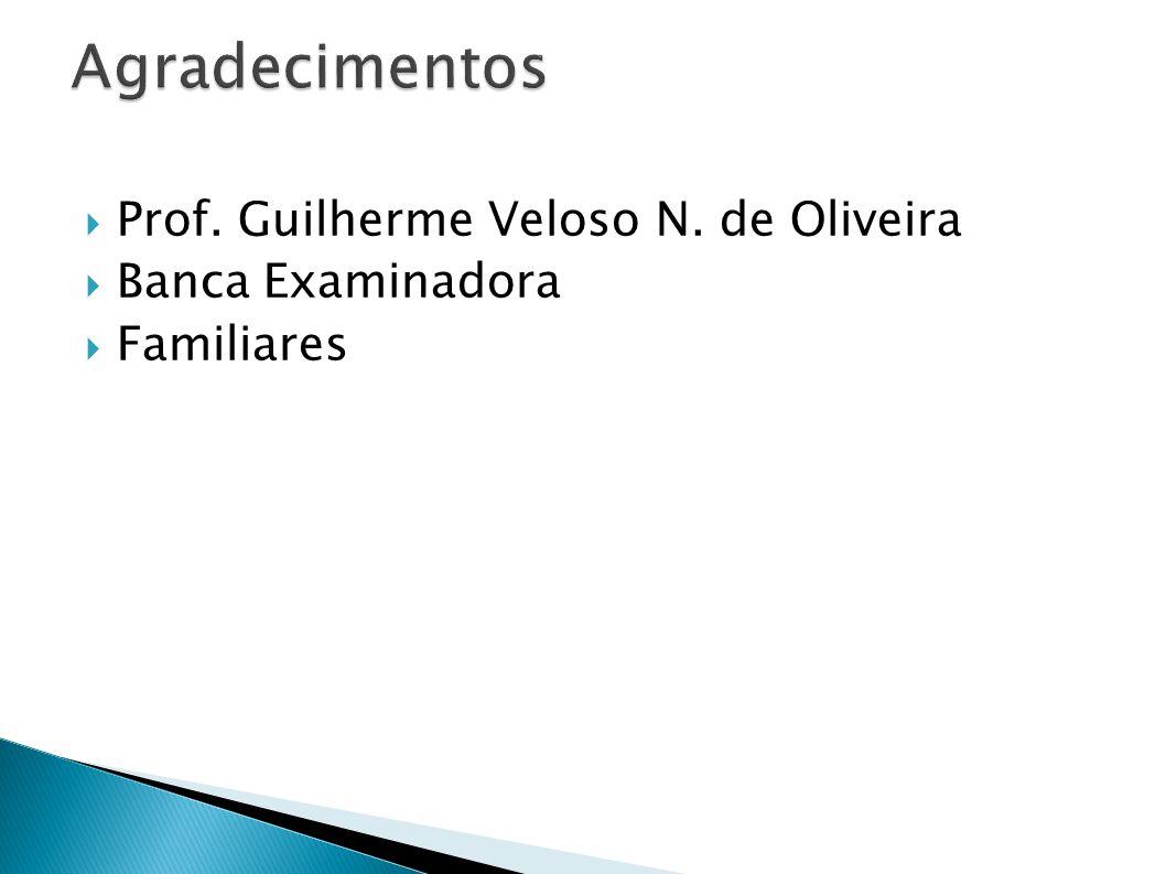 Agradecimentos Prof. Guilherme Veloso N. de Oliveira Banca Examinadora