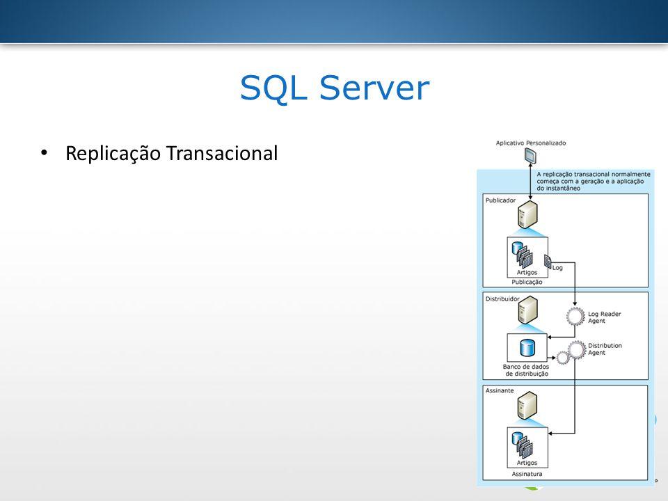 SQL Server Replicação Transacional