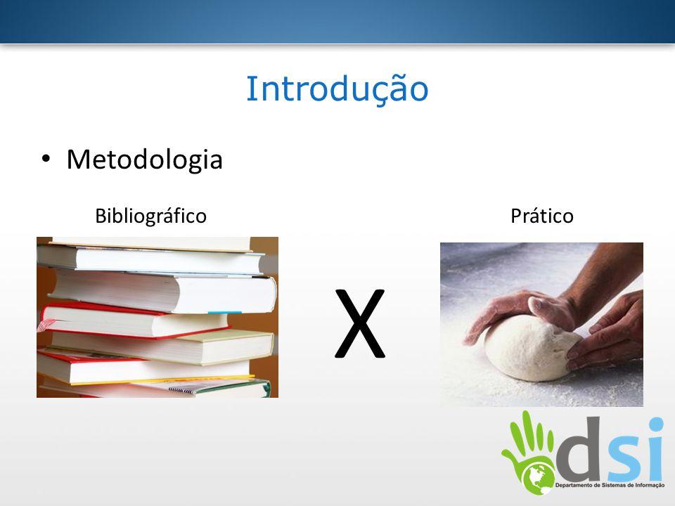 X Introdução Metodologia Bibliográfico Prático - Bibliográfico