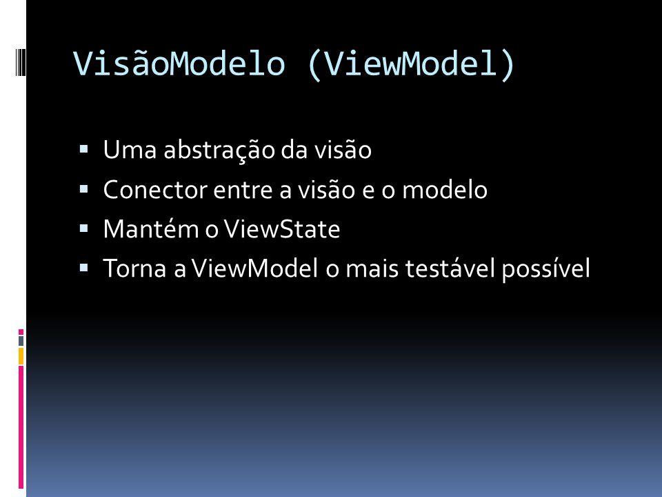 VisãoModelo (ViewModel)