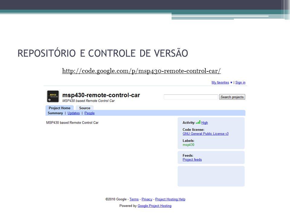 REPOSITÓRIO E CONTROLE DE VERSÃO