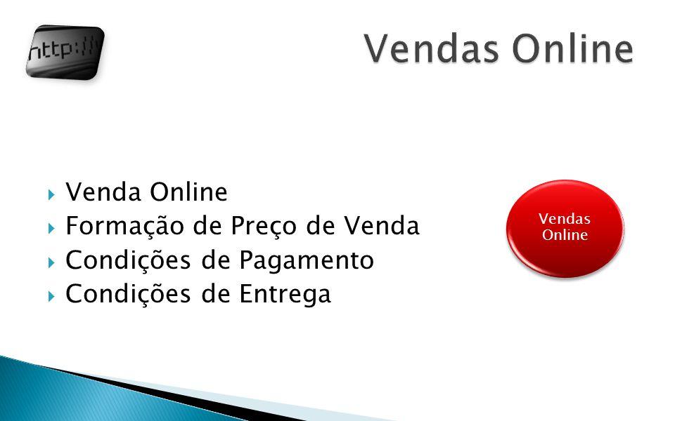 Vendas Online Venda Online Formação de Preço de Venda