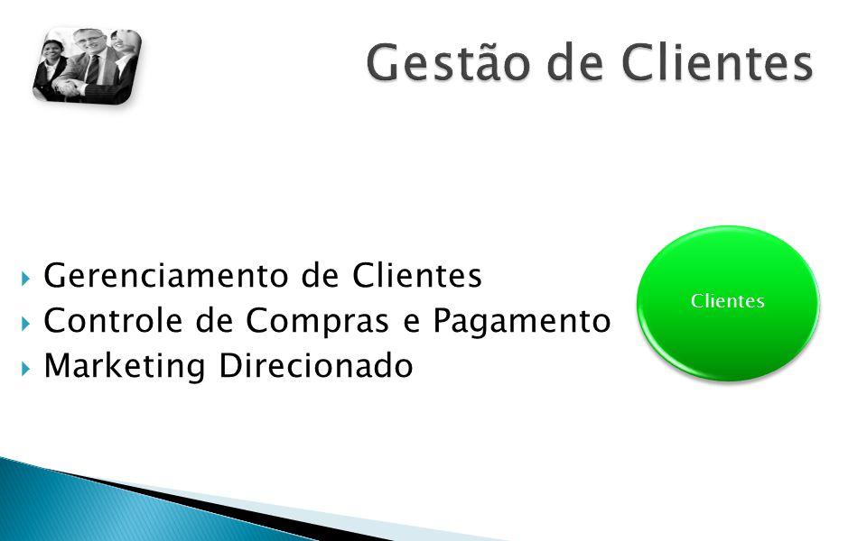 Gestão de Clientes Gerenciamento de Clientes