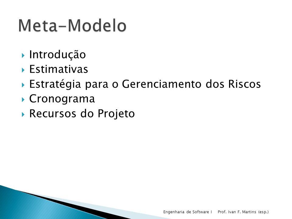 Meta-Modelo Introdução Estimativas