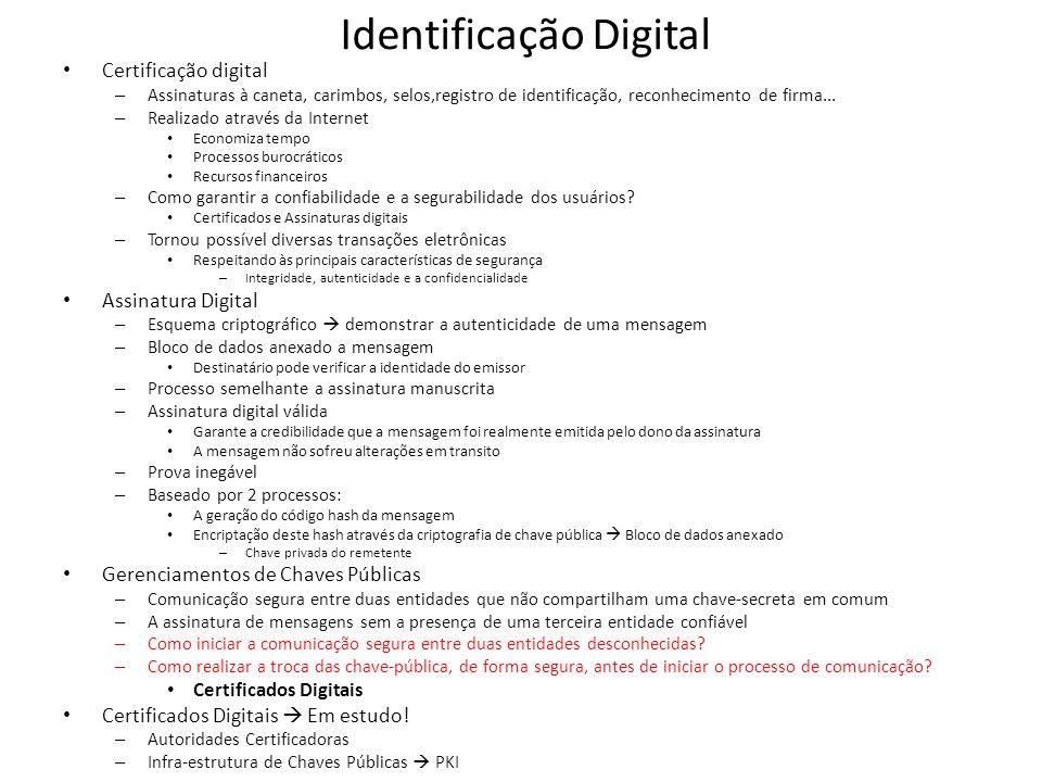 Identificação Digital