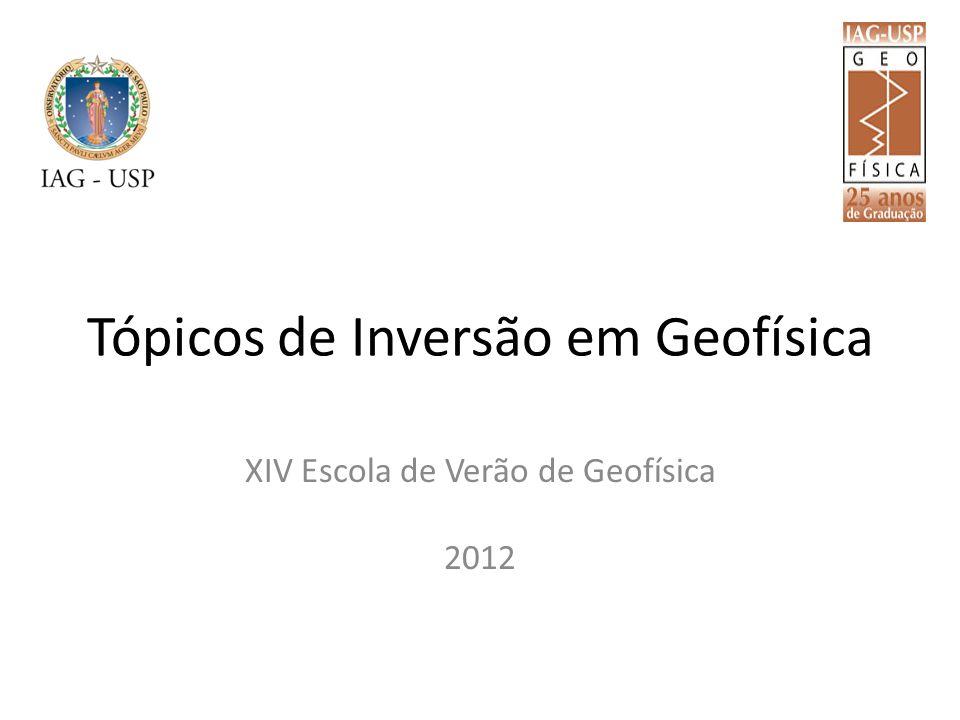 Tópicos de Inversão em Geofísica