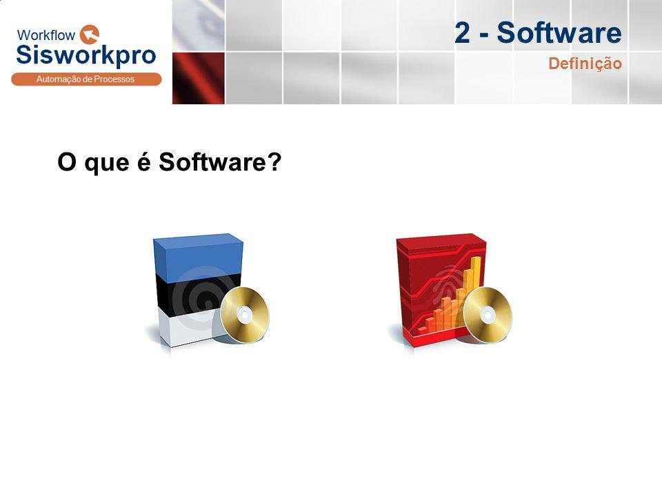 2 - Software Definição O que é Software