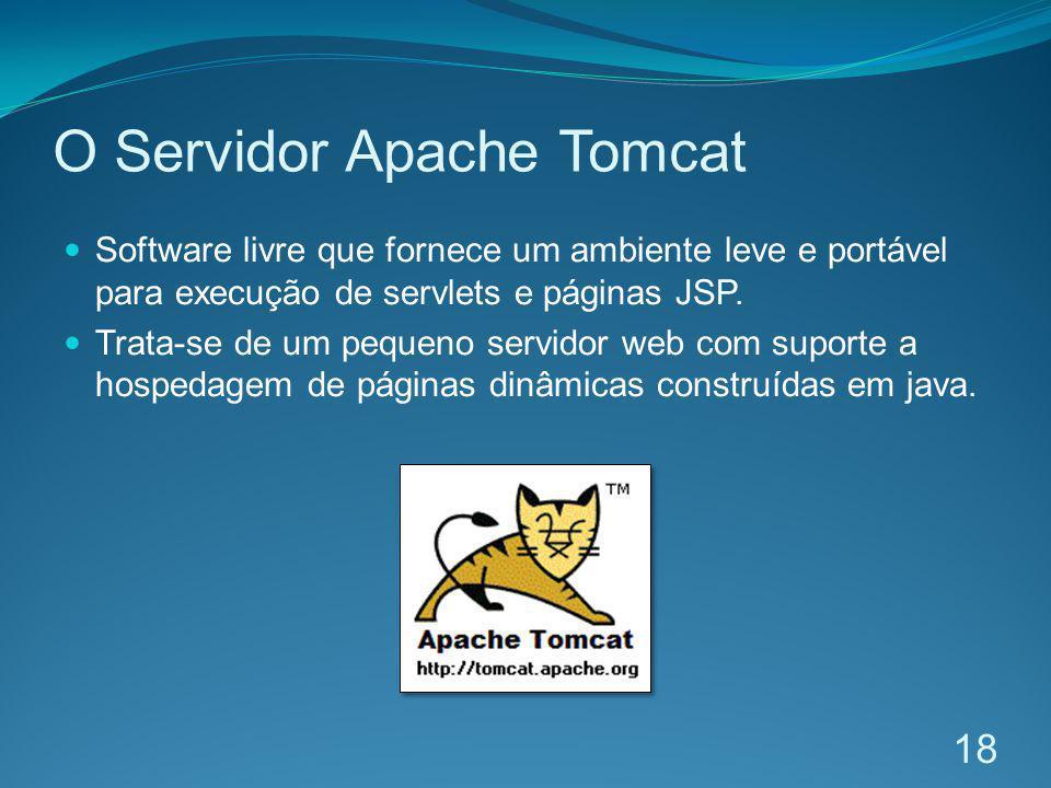 O Servidor Apache Tomcat
