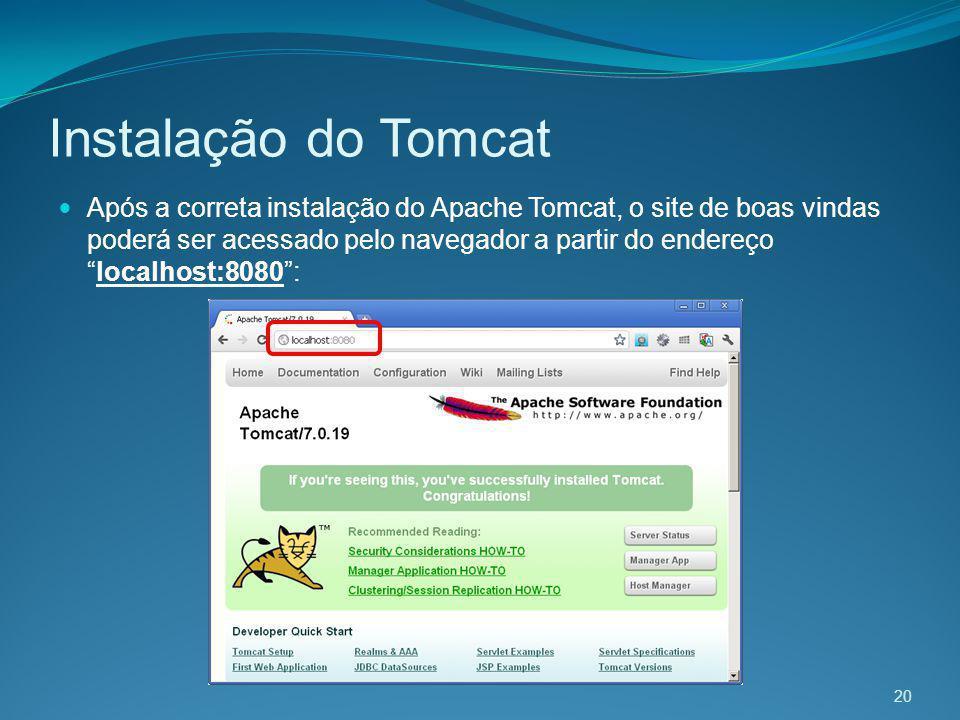 Instalação do Tomcat
