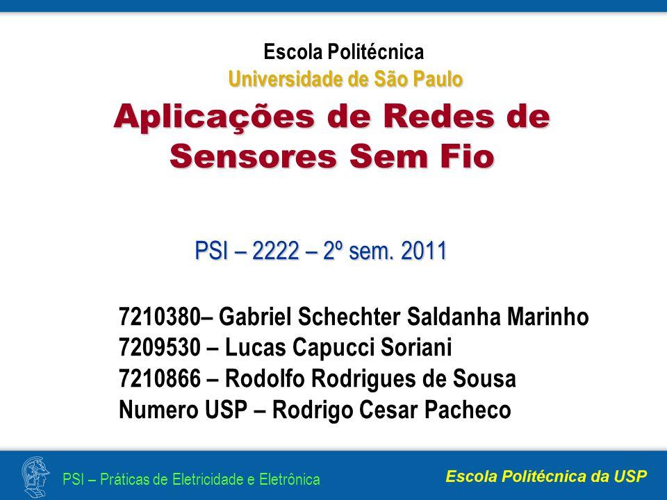 Aplicações de Redes de Sensores Sem Fio