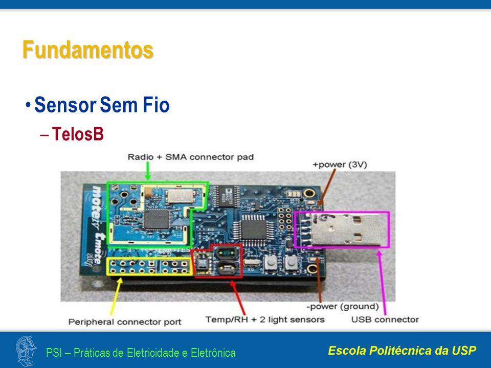Fundamentos Sensor Sem Fio TelosB