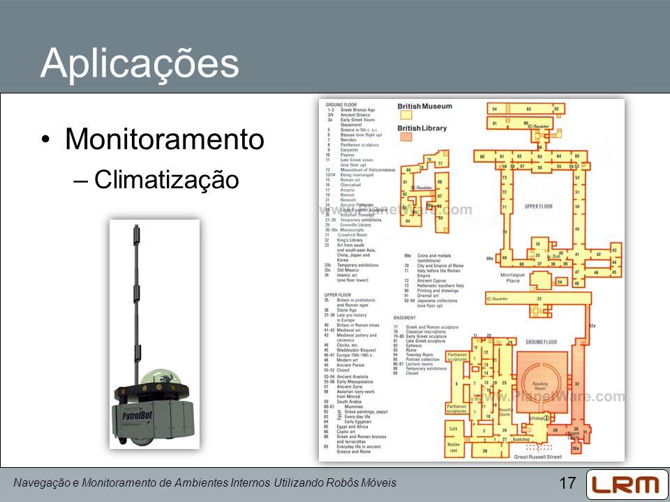 Aplicações Monitoramento Climatização