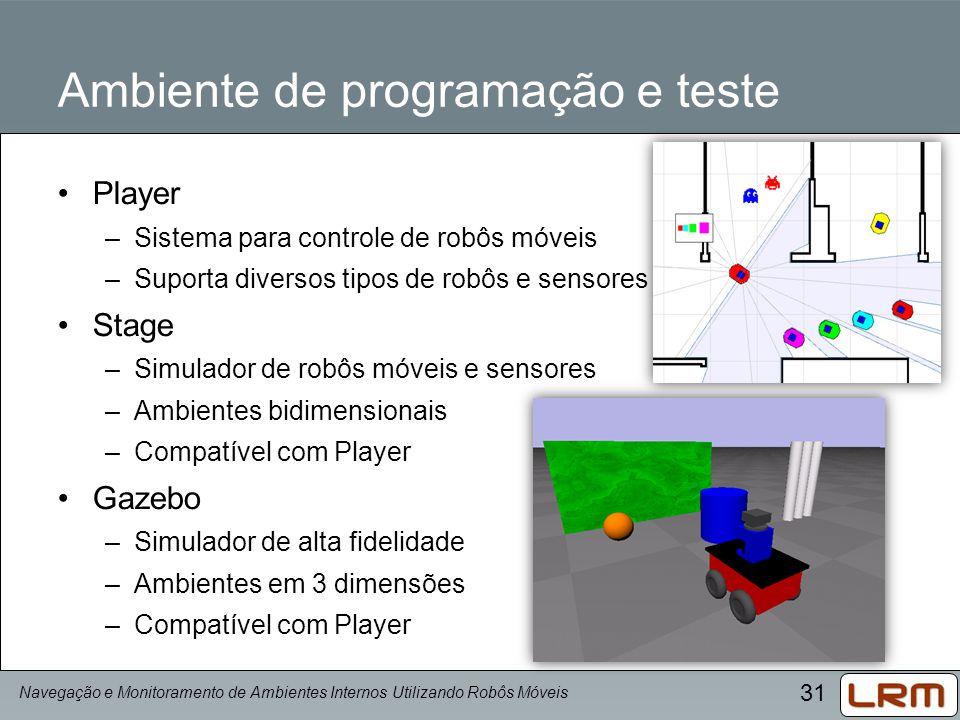 Ambiente de programação e teste
