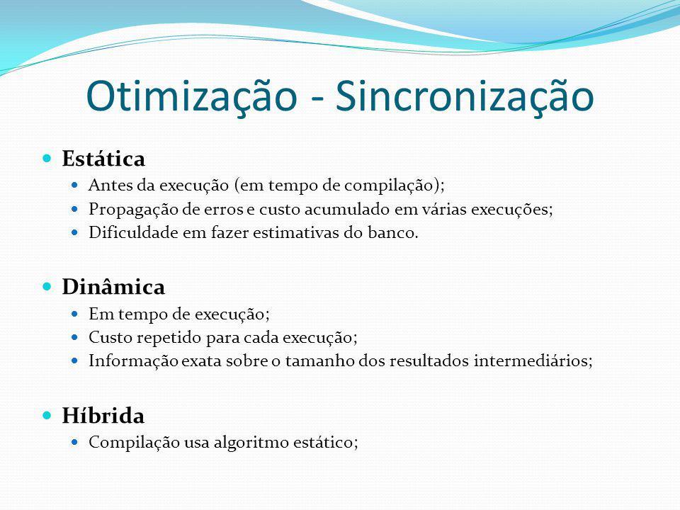Otimização - Sincronização