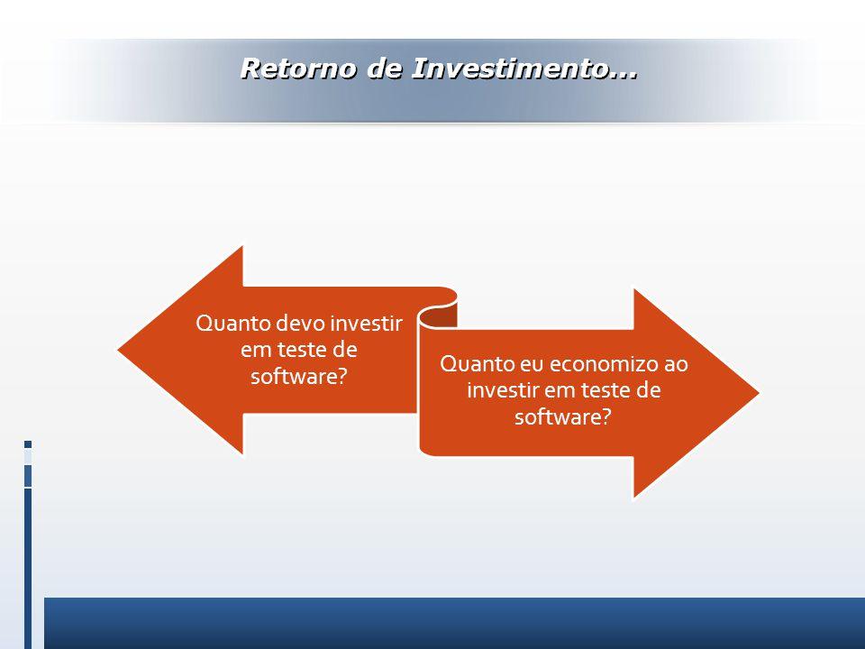 Retorno de Investimento...