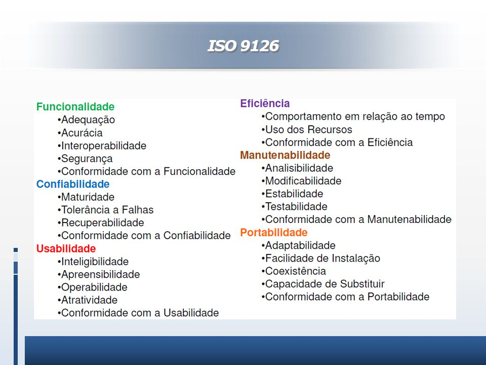 ISO 9126