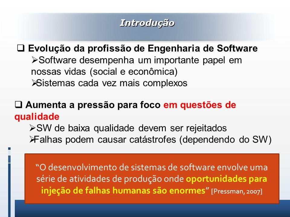 Evolução da profissão de Engenharia de Software