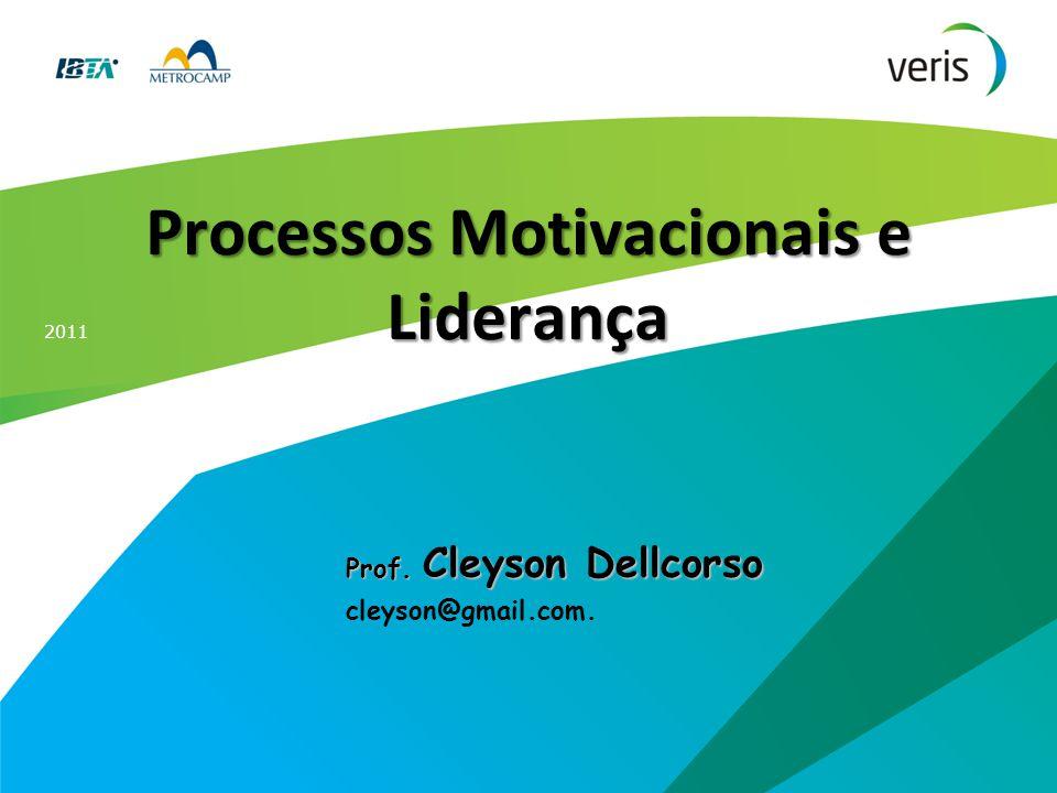 Processos Motivacionais e Liderança