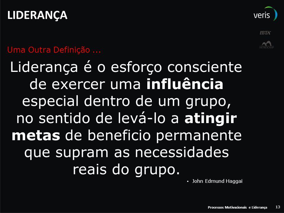 LIDERANÇA Uma Outra Definição ...