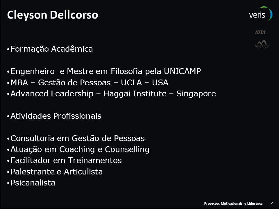 Cleyson Dellcorso Formação Acadêmica