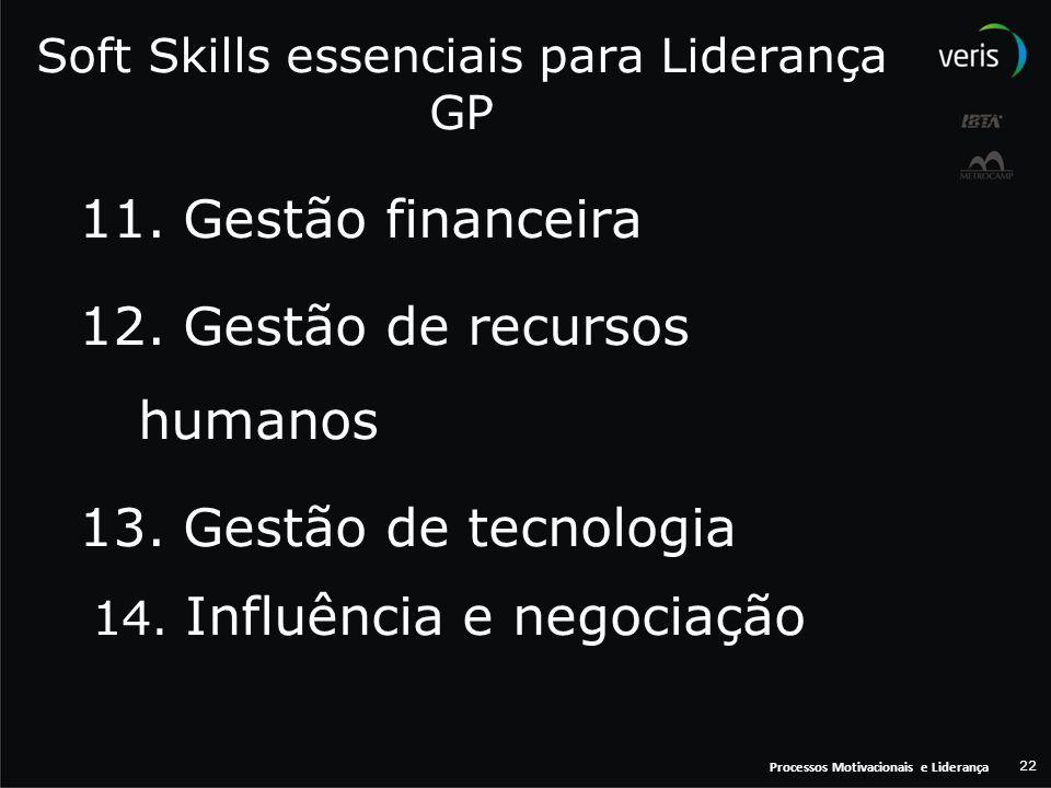 Soft Skills essenciais para Liderança GP