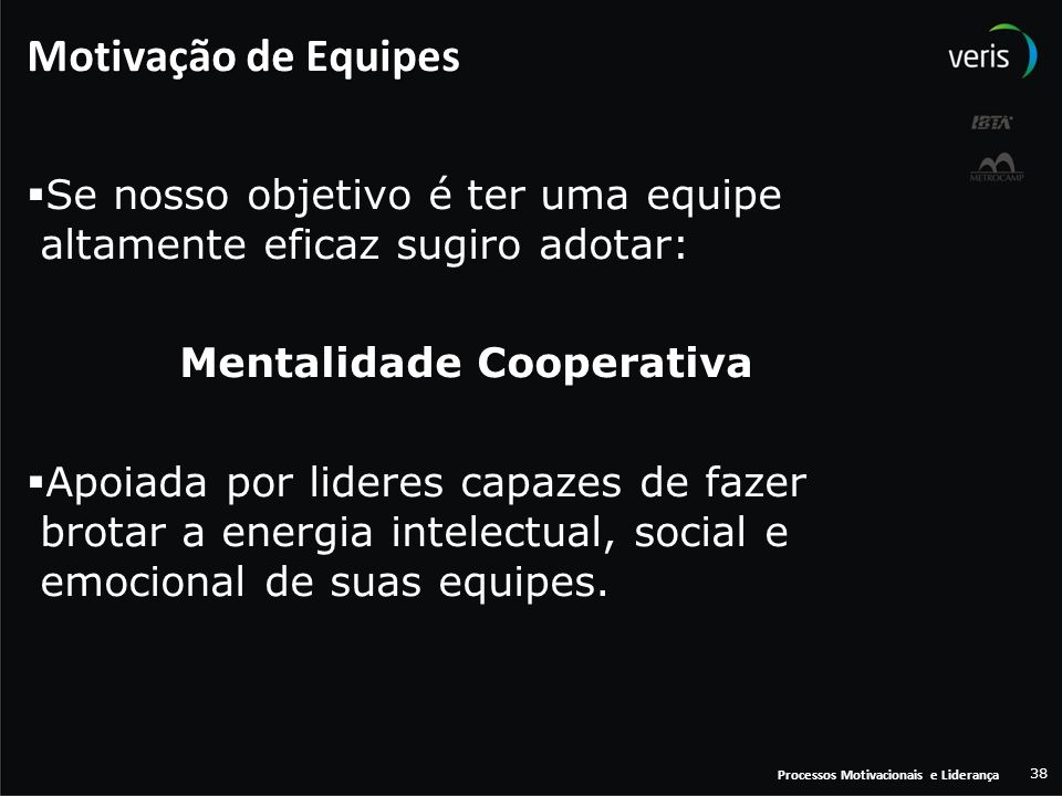 Mentalidade Cooperativa