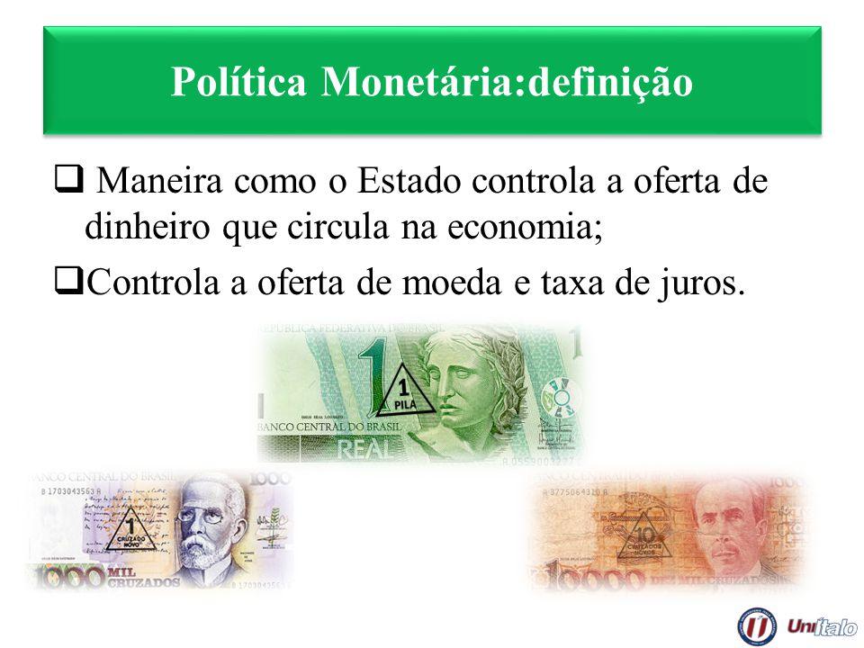 Política Monetária:definição