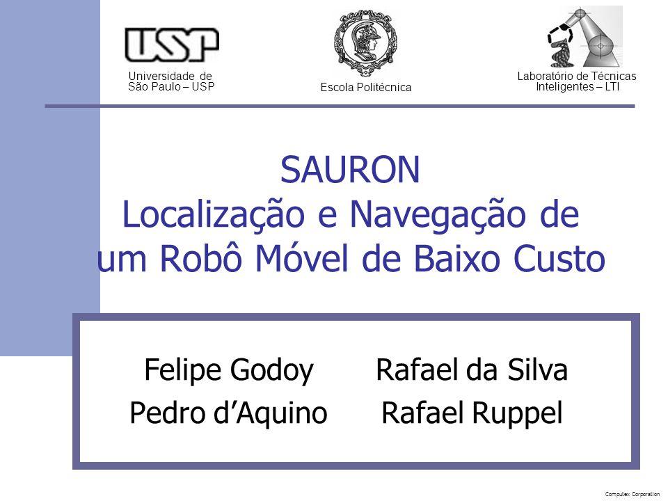SAURON Localização e Navegação de um Robô Móvel de Baixo Custo