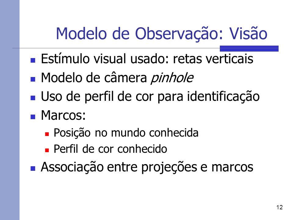 Modelo de Observação: Visão