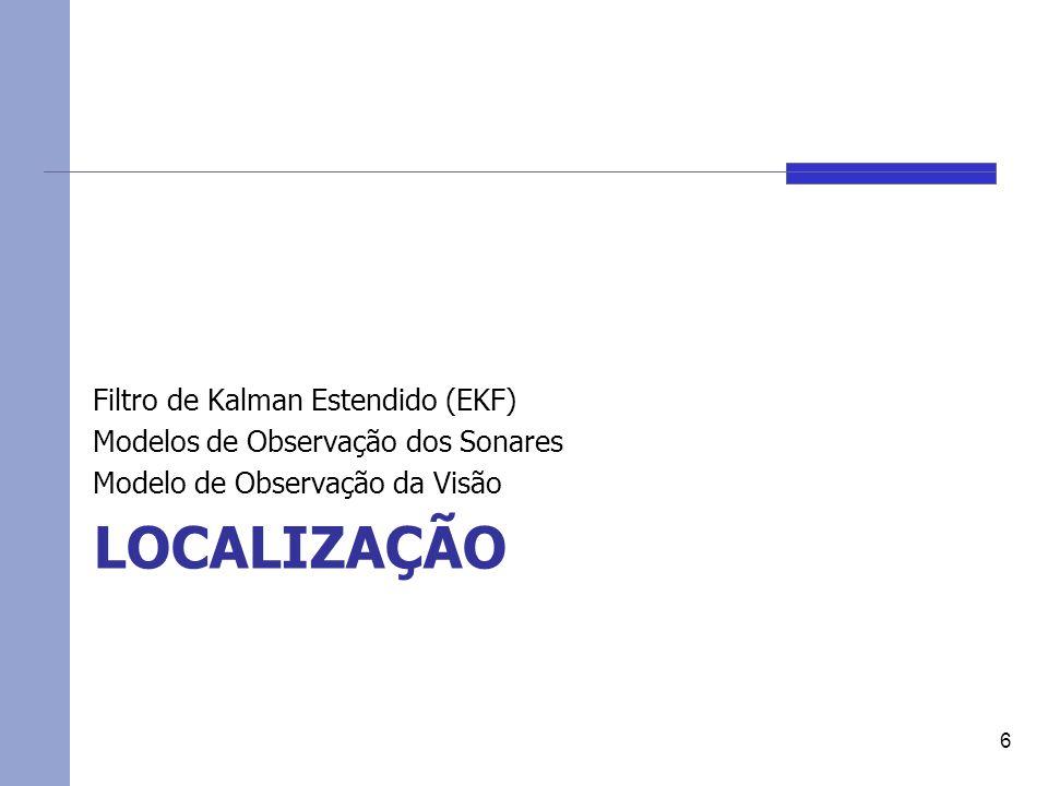 Localização Filtro de Kalman Estendido (EKF)