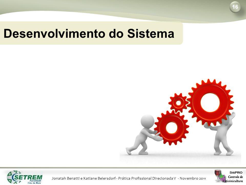 Desenvolvimento do Sistema