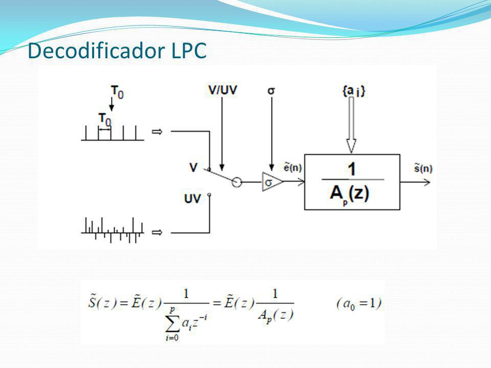 Decodificador LPC