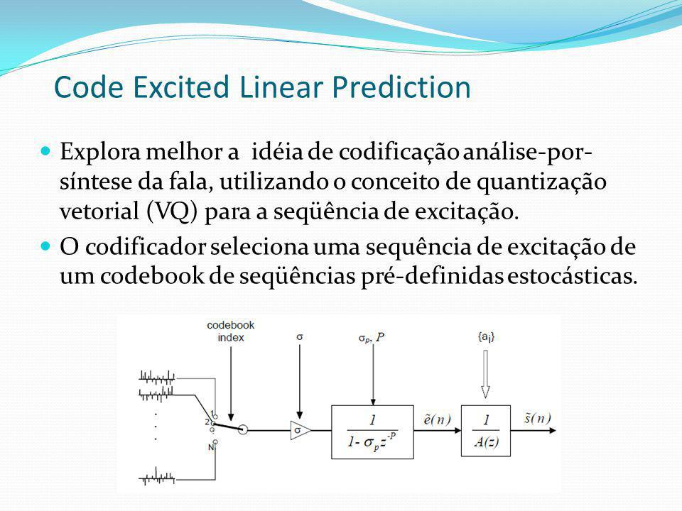 Code Excited Linear Prediction