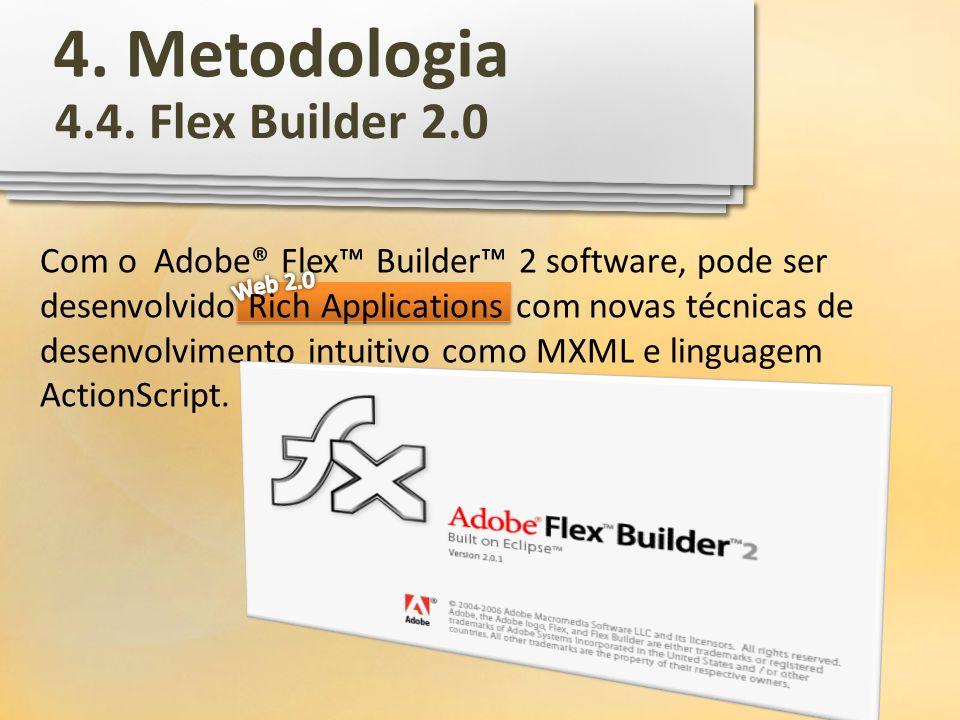 4. Metodologia 4.4. Flex Builder 2.0