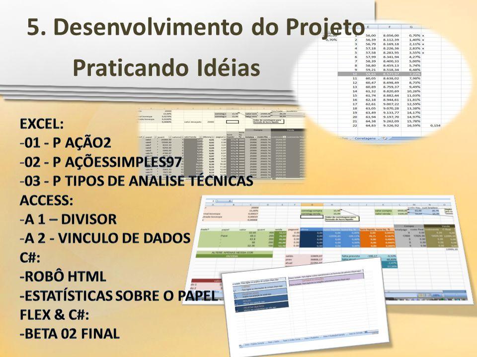 5. Desenvolvimento do Projeto