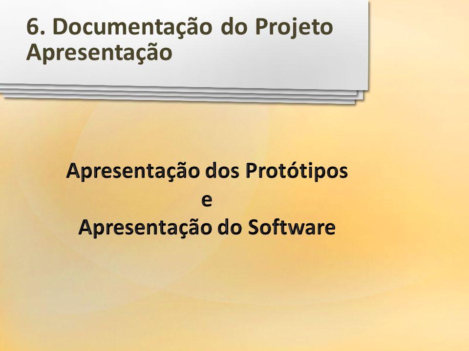 Apresentação dos Protótipos e Apresentação do Software