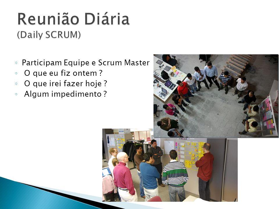 Reunião Diária (Daily SCRUM)