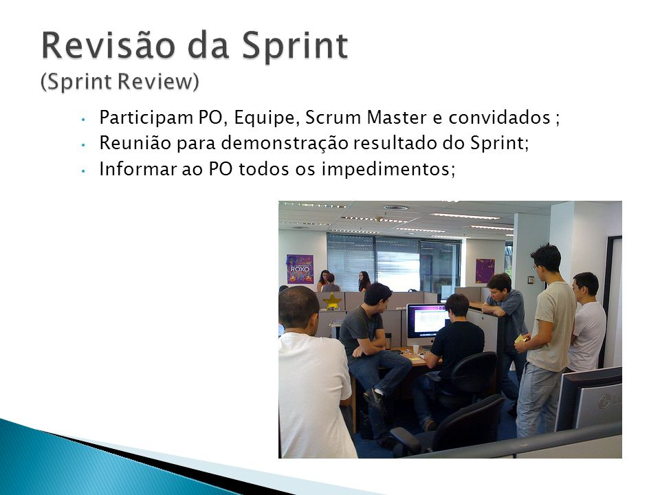 Revisão da Sprint (Sprint Review)