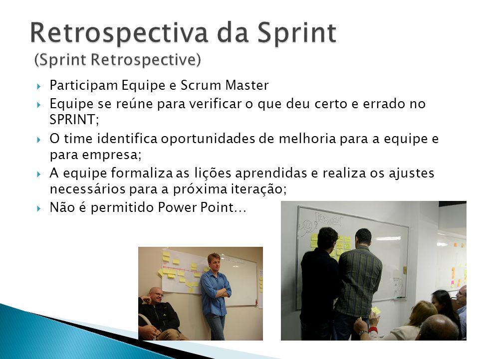 Retrospectiva da Sprint (Sprint Retrospective)