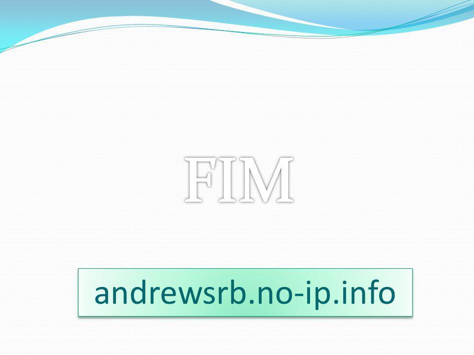 FIM andrewsrb.no-ip.info